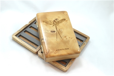 Click to view JP Ross Wooden Fly Box!