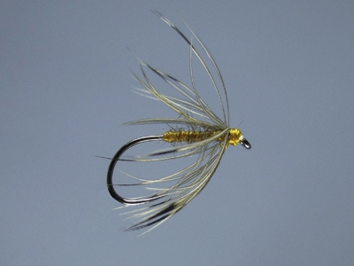 French Partridge and Orange Soft Hackle