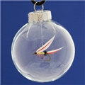 55mm Glass Christmas Ornament